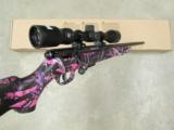 Savage Model 93R17 Muddy Girl Pink Camo with Scope .17 HMR 96208 - 8 of 8