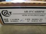 Colt AR-15/M4 32 Round 9mm Luger/Para. AR6950 - 9 of 9