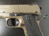 Sig Sauer Compact 1911 5.11 FDE & Black .45 ACP - 3 of 9