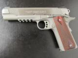 Colt Government 1911 Stainelss Rail Gun .45 ACP/AUTO 01070RG - 2 of 9