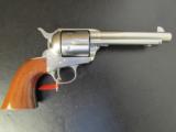 Uberti Single-Action 1873 Cattleman Nickel .45 Colt 345019 - 1 of 8