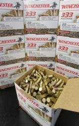 3330 ROUNDS WINCHESTER 36 GR PLATED HP .22 LR 22LR - 1 of 4