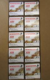 3330 ROUNDS WINCHESTER 36 GR PLATED HP .22 LR 22LR - 2 of 4