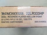 3330 ROUNDS WINCHESTER 36 GR PLATED HP .22 LR 22LR - 4 of 4