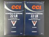 1000 ROUNDS CCI SEGMENTED HP SUBSONIC .22 LR 22LR - 2 of 4