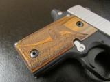 Sig Sauer P238 SAS Bi-Tone Wood Grips .380 ACP/AUTO 238-380-SAS - 5 of 8