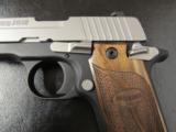 Sig Sauer P238 SAS Bi-Tone Wood Grips .380 ACP/AUTO 238-380-SAS - 3 of 8
