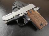 Sig Sauer P238 SAS Bi-Tone Wood Grips .380 ACP/AUTO 238-380-SAS - 2 of 8