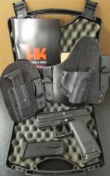 Heckler & Koch H&K USP Compact LEM SAF .40 S&W with Crossbreed Holster - 1 of 10
