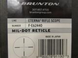 Brunton Eterna Rifle Scope 6-24X40mm Mil-Dot Reticle & Parallax - 6 of 6