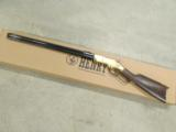 Henry BTH Original Rifle Model 1860 Reproduction .44-40 Winchester - 1 of 9