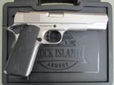 Rock Island TAC 1911 FS Matte Nickel Finish .45 ACP/AUTO 51448