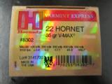 250 ROUNDS HORNADY .22 HORNET 35 GR V-MAX 8302 - 2 of 4