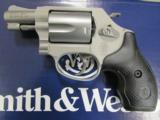Smith & Wesson Model 637 AirWeight with Hammer .38 Special 163050
