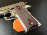 Colt Custom 1911 Bright Stainless Rosewood .38 Super - 6 of 10