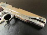 Colt Custom 1911 Bright Stainless Rosewood .38 Super - 9 of 10