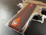 Colt Custom 1911 Bright Stainless Rosewood .38 Super - 7 of 10