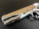 Colt Custom 1911 Bright Stainless Rosewood .38 Super - 8 of 10