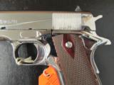 Colt Custom 1911 Bright Stainless Rosewood .38 Super - 4 of 10
