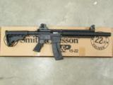 Smith & Wesson M&P 15-22 Integrally Suppressed .22 LR 3200062 - 1 of 8