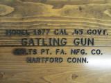 Colt 1877 Bulldog Gatling Gun with Carriage 5 Barrel .45-70 Gov't - 10 of 14