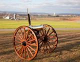 Colt 1877 Bulldog Gatling Gun with Carriage 5 Barrel .45-70 Gov't - 1 of 14