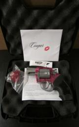 Charter Arms Undercover Cougar Pink/Stainless .38 Special 53833 - 1 of 8