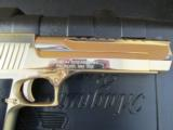 24kt Gold Magnum Research Desert Eagle Mark XIX .50 AE DE50GO - 7 of 8