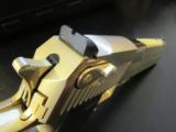 24kt Gold Magnum Research Desert Eagle Mark XIX .50 AE DE50GO - 8 of 8