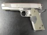 Smith & Wesson 1911 Stainless .45 ACP with Crimson Trace Lasergrip - 2 of 7