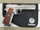 Ruger Stainless Full-Size SR1911 .45 ACP 6700 - 1 of 10