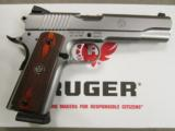 Ruger Stainless Full-Size SR1911 .45 ACP 6700 - 2 of 10