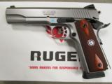 Ruger Stainless Full-Size SR1911 .45 ACP 6700 - 3 of 10