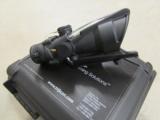 Trijicon ACOG 4x32 Scope with Green Dual Illumination Doughnut Reticle BAC M16 / AR15