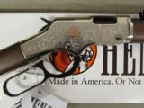 Henry American Beauty Lever Action Engraved .22 LR H004AB - 5 of 9