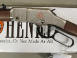 Henry American Beauty Lever Action Engraved .22 LR H004AB - 6 of 9