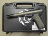 Ruger/Tactical Solutions Pac-Lite 4.5 Mod Pistol .22 LR Green - 3 of 9