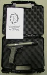 Ruger/Tactical Solutions Pac-Lite 4.5 Mod Pistol .22 LR Green - 1 of 9