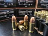 1000 ROUNDS FEDERAL CCI BLAZER BRASS 115 Gr. 9mm Luger