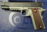 Colt 1911 Rail Gun Two-Tone w/ Rosewood Grips .45 ACP 01080RG - 2 of 9