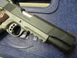 Colt 1911 Rail Gun Two-Tone w/ Rosewood Grips .45 ACP 01080RG - 7 of 9