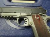 Colt 1911 Rail Gun Two-Tone w/ Rosewood Grips .45 ACP 01080RG - 6 of 9