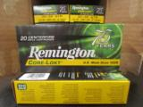 200 Rounds Remington 150 Gr CORE-LOKT