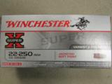 200 Rounds Winchester Super X 55 Gr PP .22-250 REM - 3 of 5