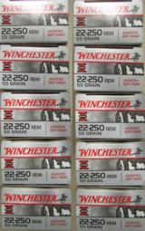 200 Rounds Winchester Super X 55 Gr PP .22-250 REM - 5 of 5