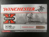 200 Rounds Winchester Super-X 150 Gr PP .308 Win - 2 of 4