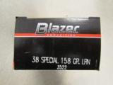 1000 Rounds CCI Blazer 158 Gr LRN .38 Special - 2 of 5