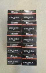 1000 Rounds CCI Blazer 158 Gr LRN .38 Special - 5 of 5