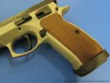 CZ 75 TS Tactical Sports Two-Tone 9mm 91172 - 6 of 9