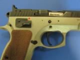 CZ 75 TS Tactical Sports Two-Tone 9mm 91172 - 4 of 9
